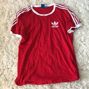 Adidas t shirt from urban out fitters