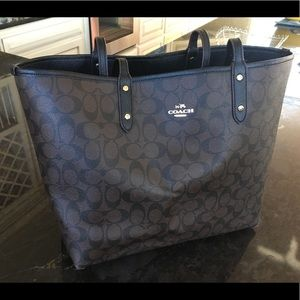 coach tote - reversible