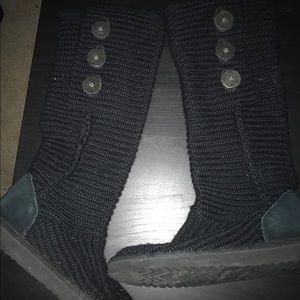 Nitted Ugg Boots