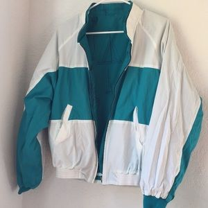 VINTAGE bomber jacket/windbreaker