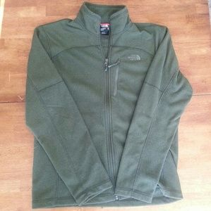 North Face Like New zip up!