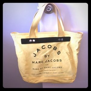 Jacobs by Marc Jacobs Yellow tote bag