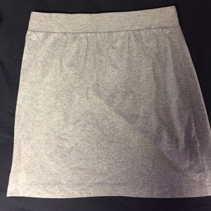 Gap medium gray silver skirt