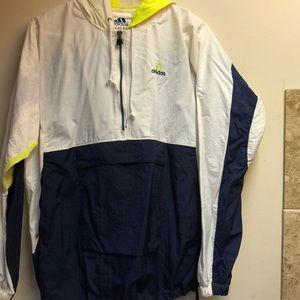 Vintage Adidas pull over jacket