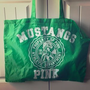 Victoria's Secret Pink XL sheer Tote bag