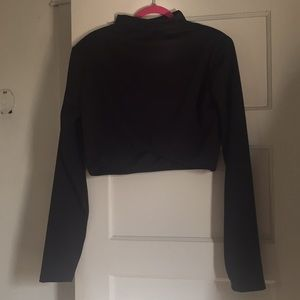 Reb Dolls Black Crop Top - NWT
