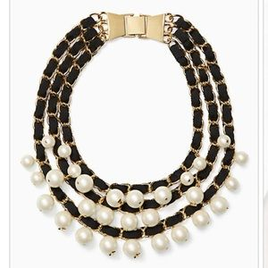 NWT Kate Spade French Twist necklace