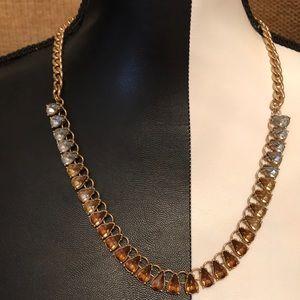 Fun gradient sparkle necklace
