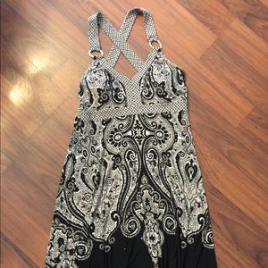 INC paisley dress
