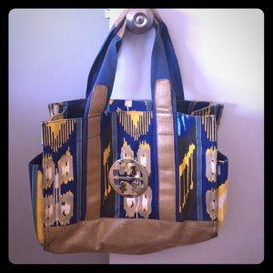 Tory Butch vintage tote bag