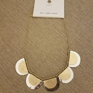 The Loft Necklace Nwt Mixed Metals