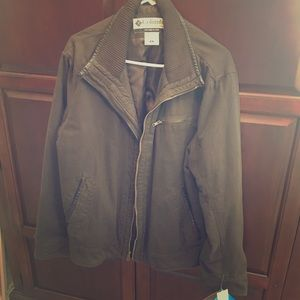 Men's XL Columbia Brown Jacket NWT