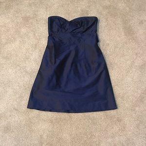 Coren Moore silk shantung cocktail dress