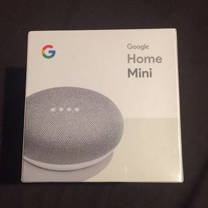 Google Home Mini in color Chalk. NWT