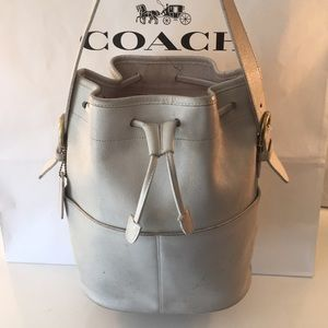 ⭐️COACH VINTAGE BUCKET BAG 💯AUTHENTIC