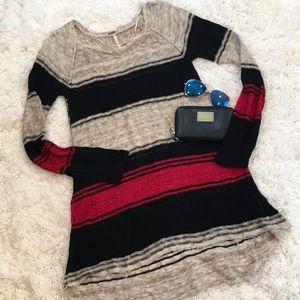 Free People Oversized Tunic Sweater