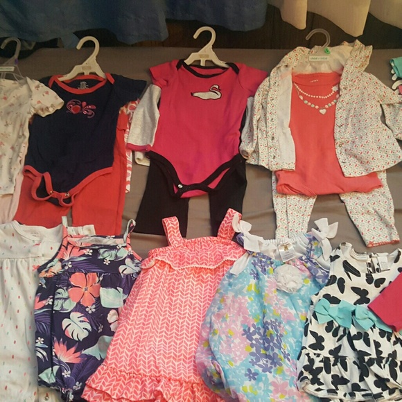 Baby Girl Size 18 Months Fall & Winter Clothing Lot Baby & Toddler Clothing Girls' Clothing (newborn-5t)