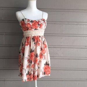 Speechless Cotton Floral Dress