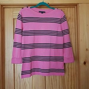 Ladies Brooks Brothers striped Sweater