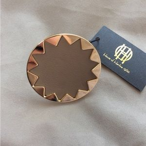 House of Harlow 1960 sunburst leather ring 🔸