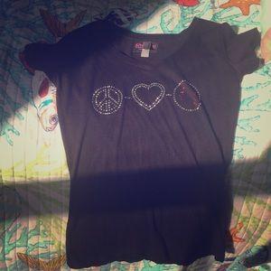 I'm selling a black shirt