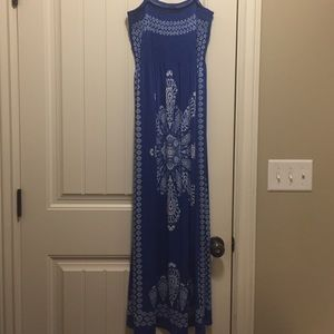 Beautiful stretch bodice maxi dress
