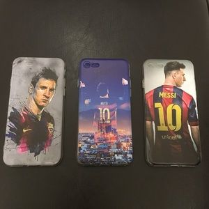 Other - Soft iPhone 7 case with Messi