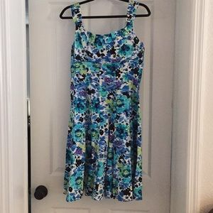 Madison Leigh floral print spring Dress