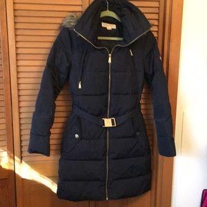 MICHAEL KORS puffer jacket Navy Blue