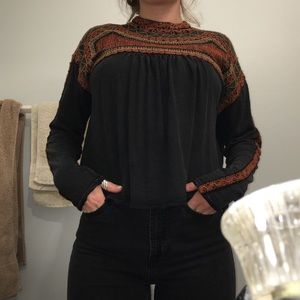 Cute flowy shirt from free people