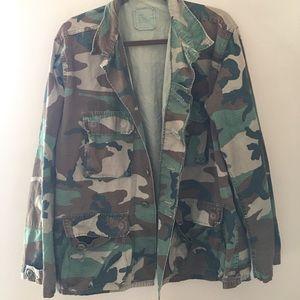 Vintage camo jacket