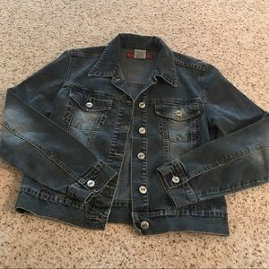 YMI jeans denim jacket women's medium