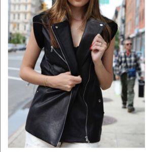 Alexander Wang Lambskin Leather Vest