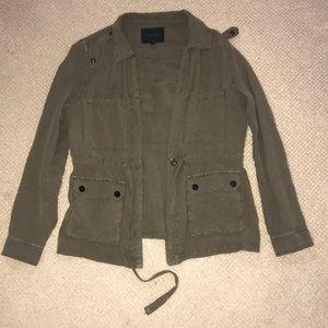 Sanctuary light army jacket!