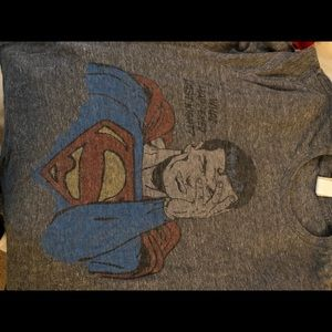 Awesome Superman T-shirt hungover