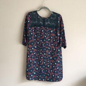 Gorgeous fun Borden shift dress! Size 10!