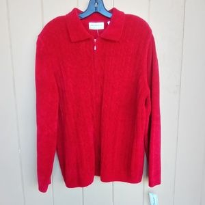 NWT alfred dunner Red Sweater Sz. 2X
