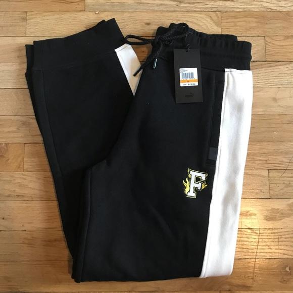 cf56c044ac1e NEW nwt FENTY PUMA fitted panel sweatpants SMALL