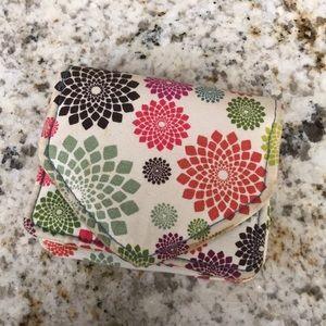 Handbags - Floral card holder