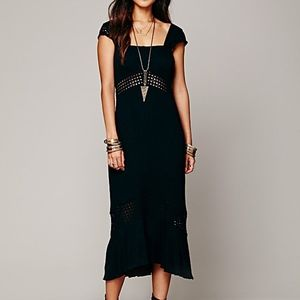FREE PEOPLE Leighabelle dress/NEW/black /XS