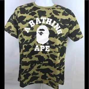 98b605c4f Bape Shirts | A Bathing Ape Camo Tshirt | Poshmark