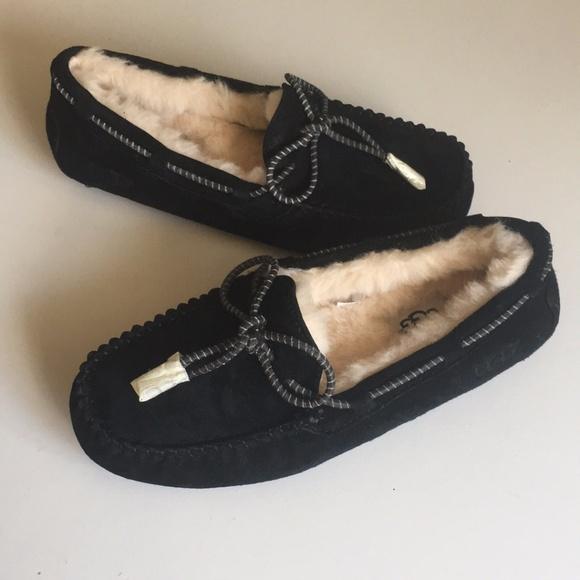 e029f34f1ea Dakota Swirl Flesh Suede Black Slippers