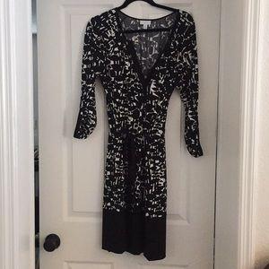 New York & Co B/W Dress