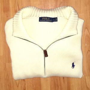 Polo by Ralph Lauren 3/4 Zip Sweater