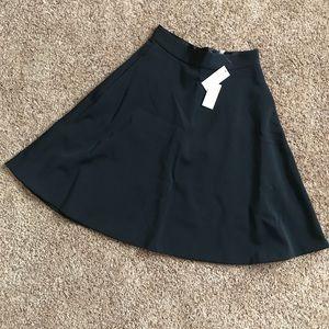 Banana republic black high waisted Midi skirt