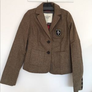 Abercrombie and Fitch Tweed Blazer