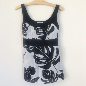 White House Black Market Ribbon Top
