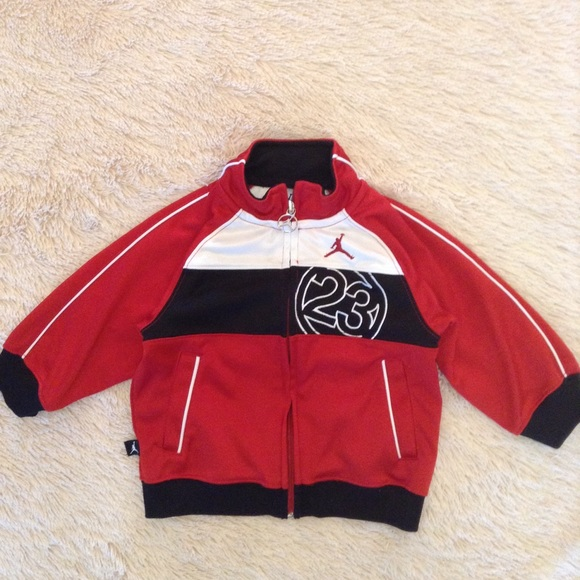 59fa5948eb1cef Jordan Other - Baby Jordan track jacket size 18M  23 red black