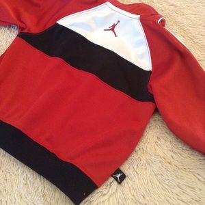 c9175494c94a2f Jordan Jackets   Coats - Baby Jordan track jacket size 18M  23 red black