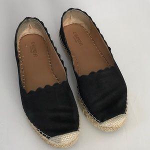Crown Vintage suede espadrilles